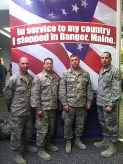 Tim Alewine troops