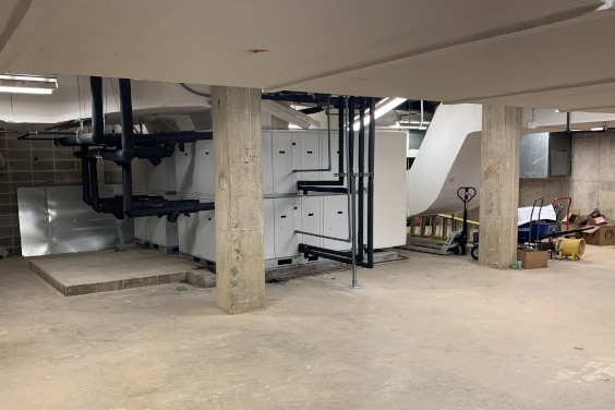 Holtzendorff building at Clemson University HVAC system Upgrade