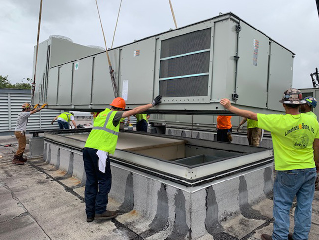 HVAC Rooftop Replacements at Daniel Island Office Building